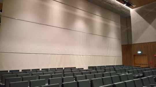 Divisorio sala convegni Università Luiss Roma