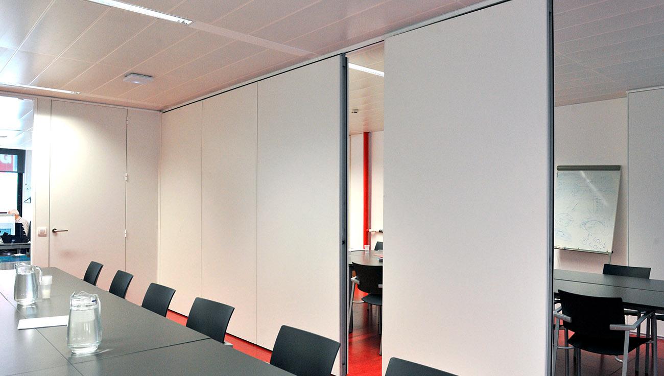 parete mobile su binario